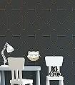 Riviera,-col.09-Kreise-Graphisch-Grafische-Muster-Art-Deco-Anthrazit-Schwarz-Bronze
