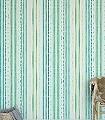Rodrigo,-col.08-Streifen-Farbverlauf-Moderne-Muster-Grün-Türkis-Weiß