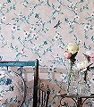 Rosanna-Trellis,-col.-1-Blumen-Tiere-Schmetterlinge-Fauna-Florale-Muster-Braun-Rosa-Creme