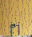 Salice,-col.03-Blumen-Äste-Florale-Muster-Rot-Gelb