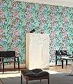 Sargon,-col.01-Blumen-Tiere-Blätter-Flamingos-Florale-Muster-Türkis-Multicolor