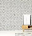 Scales-Kachel-Moderne-Muster-Weiß-Perlmutt