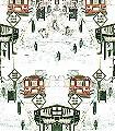 Schoolbus,-col.6c-Fahrzeuge-Moderne-Muster-Rot-Olive-Weiß