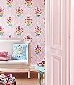 Shabby-Chic,-col.03-Ornamente-Blumen-Florale-Muster-Rosa-Multicolor