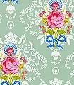 Shabby-Chic,-col.04-Ornamente-Blumen-Florale-Muster-Multicolor-mint