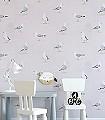 Shore-Birds,-col.-2-Tiere-Strand-Vögel-Fauna-Grau-Rosa-Weiß