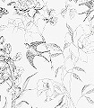 Sibylla-Garden,-col.01-Blumen-Vögel-Zeichnungen-Florale-Muster-Schwarz-Weiß