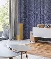 Sisal,-col.03-Gewebe-Moderne-Muster-Blau-Silber