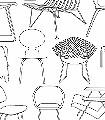 Sitting-Comfortably,-snow-'colour-me'-Stuhl-Moderne-Muster-Schwarz-Weiß
