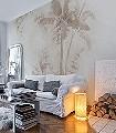 Sixtus,-col.01-Bäume-Schemen/Silhouetten-FotoTapeten-Fresco-Creme-Hellbraun