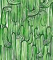 Sonora-Vert-Bäume-Florale-Muster-Moderne-Muster-Grün-Weiß