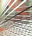 Space-Grid,-Autumn-Blätter-3D-Tapeten-abstrakt-FotoTapeten-Creme-Hellbraun
