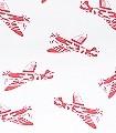 Spitfires,-white-Flugzeuge-KinderTapeten-Rot-Weiß