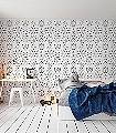 Splash!-black&white-Ornamente-Figuren-Moderne-Muster-Schwarz-Weiß