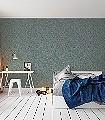 Stan-col.-20-Blätter-Ranken-Klassische-Muster-Florale-Muster-Grün-Gold-Grau-Hellgrün