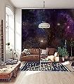 Star-Galaxy-Sterne-Moderne-Muster-FotoTapeten-Multicolor