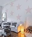 Sterne,-rose-Sterne-Moderne-Muster