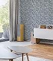 Sudare,-col.01-Schemen/Silhouetten-Moderne-Muster-Blau-Grau-Weiß