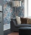 Svenja,-col-4-Blumen-Blätter-Klassische-Muster-Blau-Braun-Weiß-Hellblau