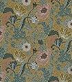 Svenja,-col.-2-Blumen-Blätter-Klassische-Muster-Grün-Rosa-Hellgrün-Creme-Ocker