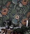 Svenja,-col.-3-Blumen-Blätter-Klassische-Muster-Grün-Blau-Braun-Anthrazit-Creme-Hellblau