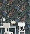 Svenja,-col.-3-Blumen-Blätter-Klassische-Muster-Jugendstil-Grün-Blau-Braun-Anthrazit-Creme-Hellblau