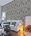 Svian,-col.-7-Blumen-Blätter-Klassische-Muster-Grün-Lila-Grau-Hellgrün-Weiß-Creme