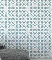 System,-col.01-Buchstaben-Graphisch-Moderne-Muster-Weiß-Hellblau