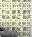 System,-col.02-Buchstaben-Graphisch-Moderne-Muster-Olive-Weiß