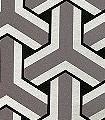 TRIFID,-col.-03-Ornamente-Rauten-Gitter-Grafische-Muster-Gold-Anthrazit-Schwarz