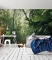 TROPENWELTEN-Blätter-Florale-Muster-FotoTapeten-Grün