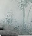 Tadine,-col.90-Bäume-Großmotiv-Schemen/Silhouetten-FotoTapeten-Fresco-Grün-Grau-Creme