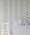 Taimi,-col.06-Streifen-Punkte-Moderne-Muster-Grau-Türkis-Weiß-Ocker-mint