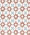 Tassi,-col.-04-Sterne-Klassische-Muster-Rot-Creme-Hellbraun