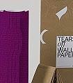 Tears-off-wallpaper,-col.-20-Bögen-Formen-Lila