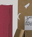 Tears-off-wallpaper-col.11-Bögen-Formen-Rot