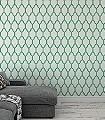 Tessella,-col.03-Rauten-Grafische-Muster-Hellgrün-Creme