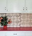Thailand-Lino-Tiles,-yellow-Kreise-Kachel-Moderne-Muster-Grau-Rosa