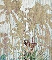 The-Jungle-design,-col.-8-Bäume-Landschaft-Blätter-Florale-Muster-FotoTapeten-Grün-Braun-Anthrazit-Creme