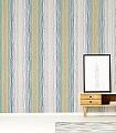 Tilapa,-col.09-Streifen-Moderne-Muster-Türkis-Multicolor