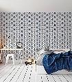 Tillsammans,-blue-Tiere-Bilderrahmen-Fauna-Moderne-Muster-Blau-Weiß