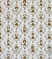 Tillsammans,-gold-Tiere-Bilderrahmen-Fauna-Moderne-Muster-Gold-Weiß