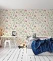 Tine,-col.08-Blumen-Vögel-Florale-Muster-Creme