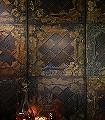 Tins,-col.08-Kachel-Reisslack-Moderne-Muster-Gold-Anthrazit-Bronze