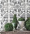 Topiary,-col.-6-Bäume-Landschaft-Florale-Muster-Schwarz-und-Weiß