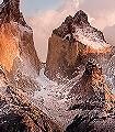 Torres-del-Paine-Gebäude-FotoTapeten-Blau-Braun