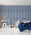 Treillage,-col.-1-Ornamente-Klassische-Muster-Blau-Weiß