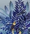 Tribute-Sierra,-col.-1-Tiere-Bäume-Landschaft-Blätter-Vögel-Fauna-Florale-Muster-Moderne-Muster-FotoTapeten-Multicolor
