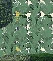 Tropical-Dream,-Bahn-C-Blätter-Früchte-Florale-Muster-Grün-Creme