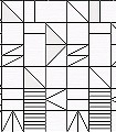 Ullmann-Quadrate/Rechtecke-Graphisch-Grafische-Muster-Schwarz-Weiß